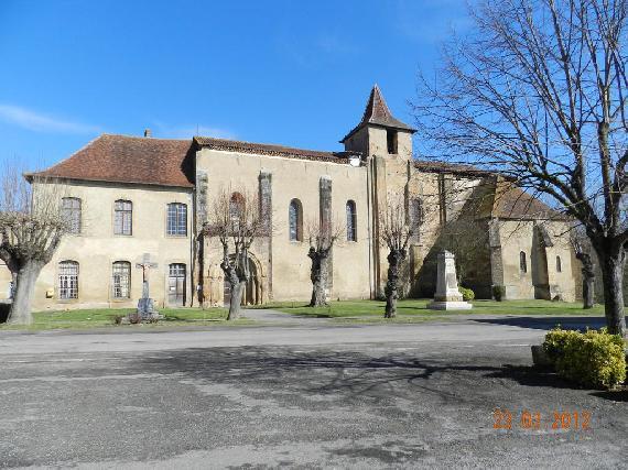 Ancienne abbaye de Saint-Sever-de-Rustan