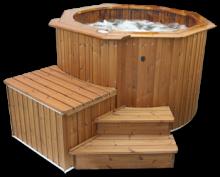 spa en bois