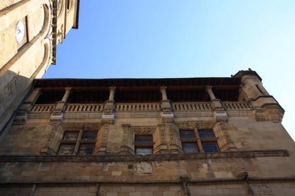 Ancien Évêché de Sarlat, crédit photo Joël Herbez pour Patrimoine-de-France.com