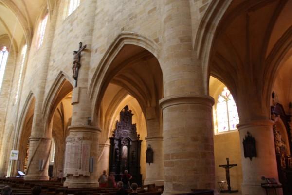 Cathédrale Saint-Sacerdos, Sarlat la canéda crédit photo Joël Herbez pour Patrimoine-de-France.com