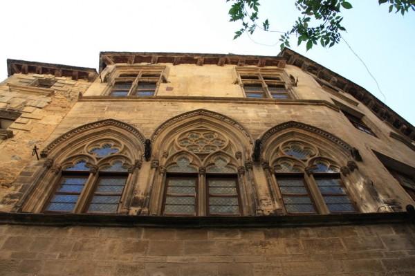 Maison dite des Consuls, ou Hôtel de Plamon, Hôtel de Tapinois de Beton, sarlat la canéda. Crédit photo Joël Herbez pour Patrimoine-de-France.com