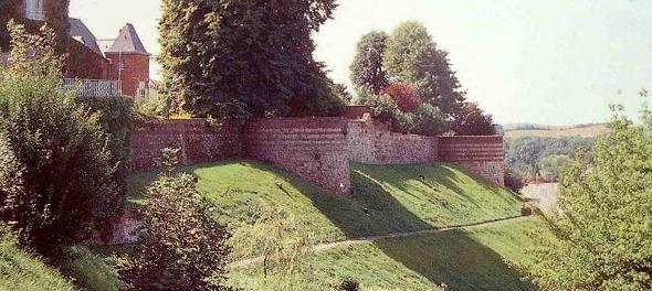 Rempart médiéval de la ville de Vervins