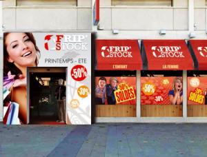 photo d'une devanture de boutique