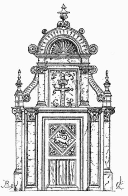 Fragment du château de Blois (partie François Ier)