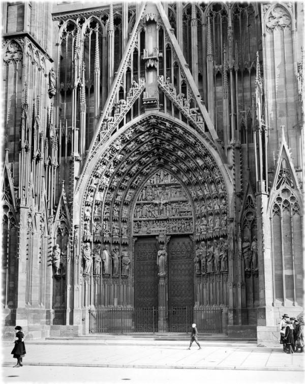 Strasbourg (Bas-Rhin), cathédrale Notre-Dame